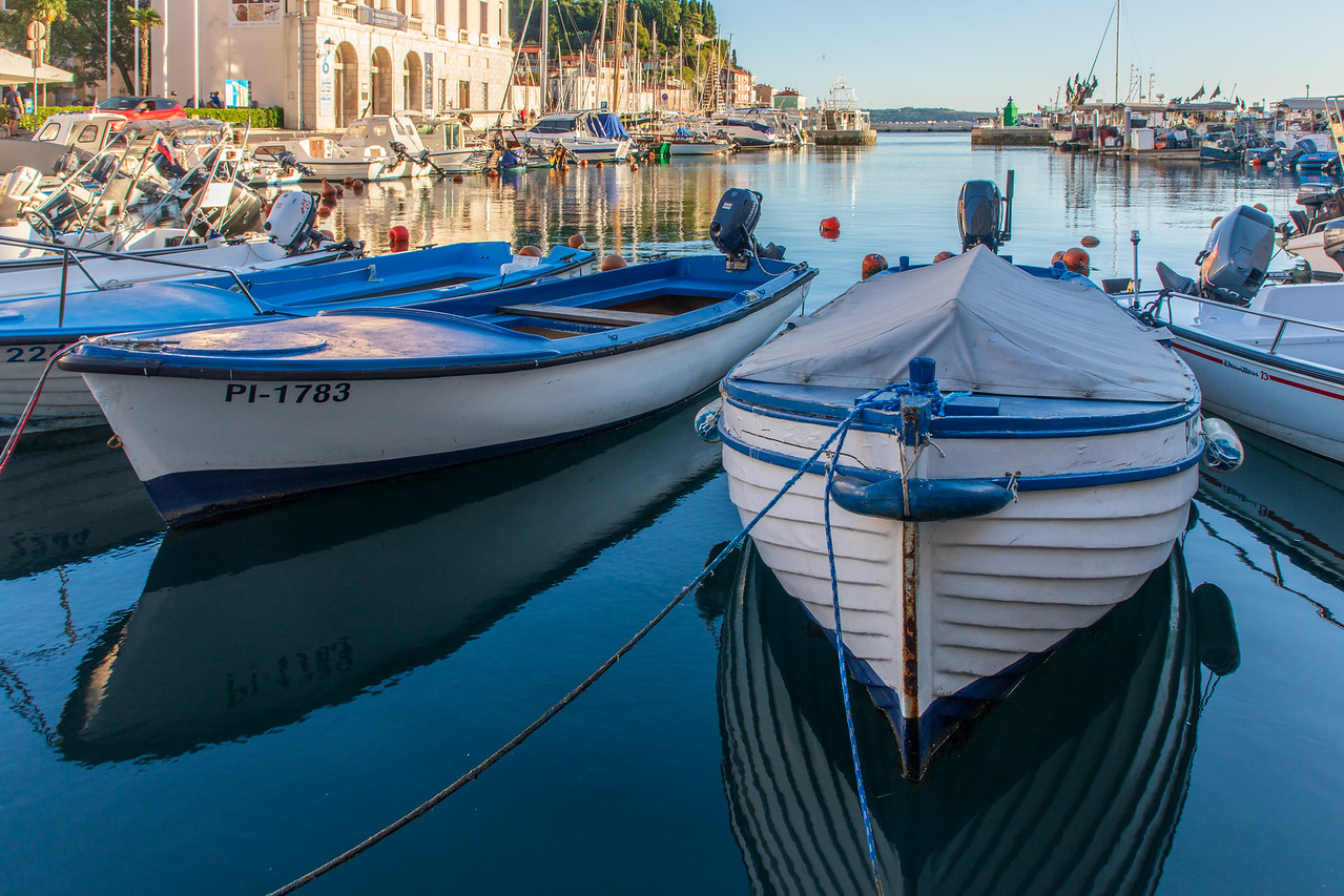 The Harbor Of Piran, Slovenia