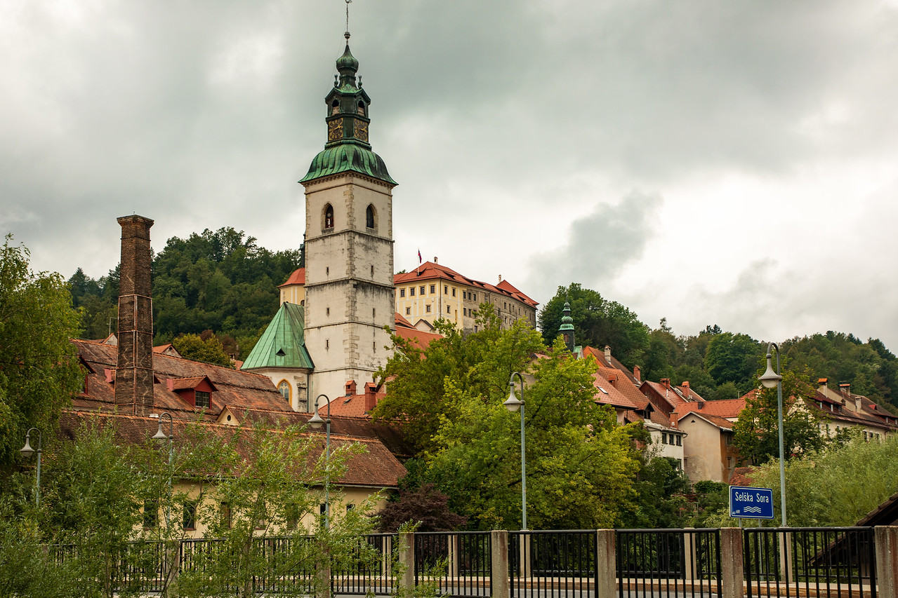 The Medieval Church in Škofja Loka