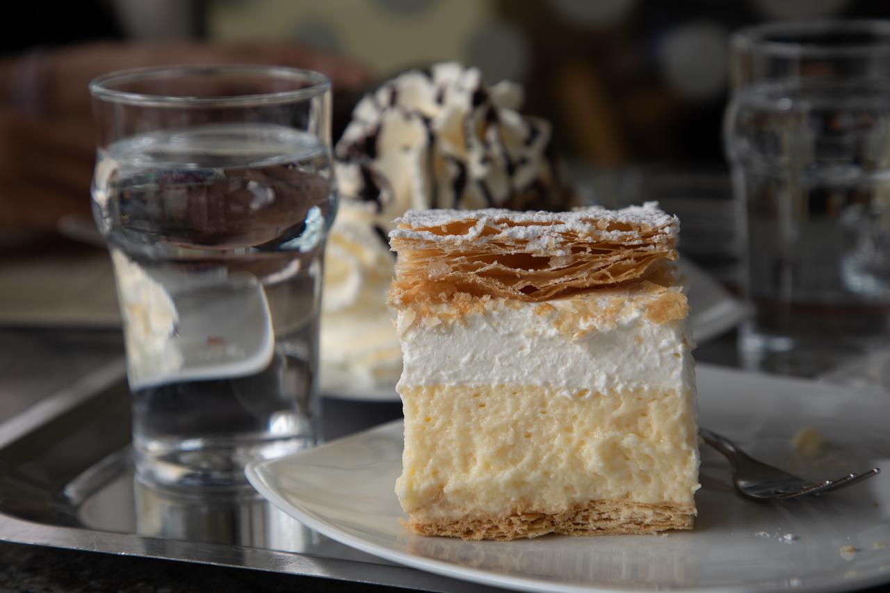 Kremšnita (The Famous Bled Cream Cake)
