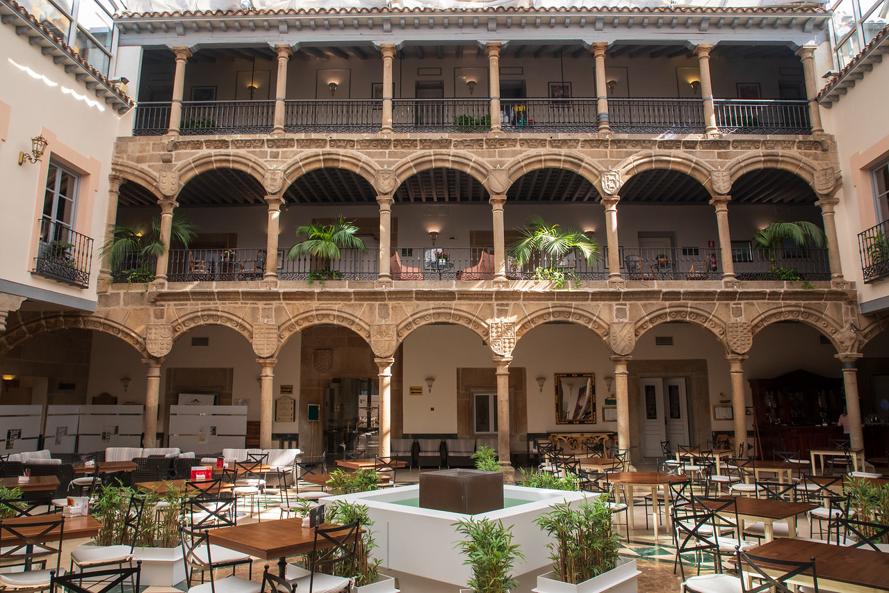 Photo of The Courtyard at Palacio de Los Velada in Avila, Spain