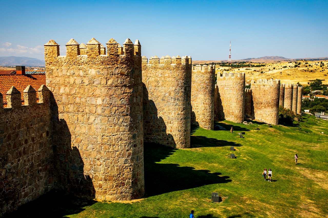Photo Image of Avila, Spain While Walking on the City Walls