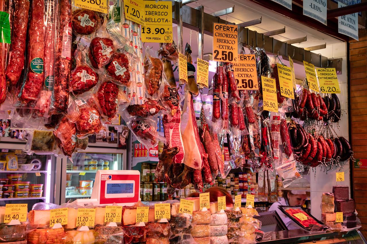 Market in the Tirana of Seville, Spain