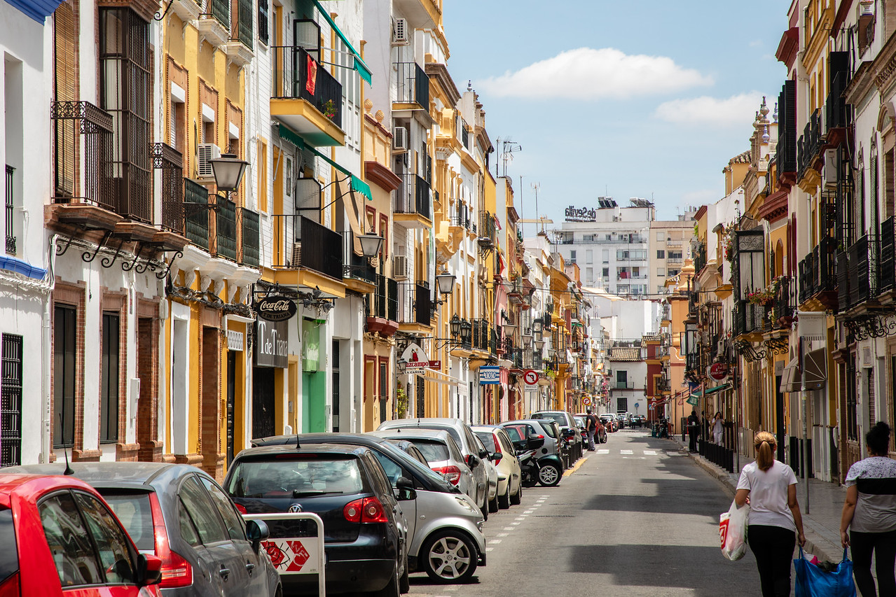 It is Not as Polished as Other Areas of Seville, but We Fell in Love With the Tirana Neighborhood