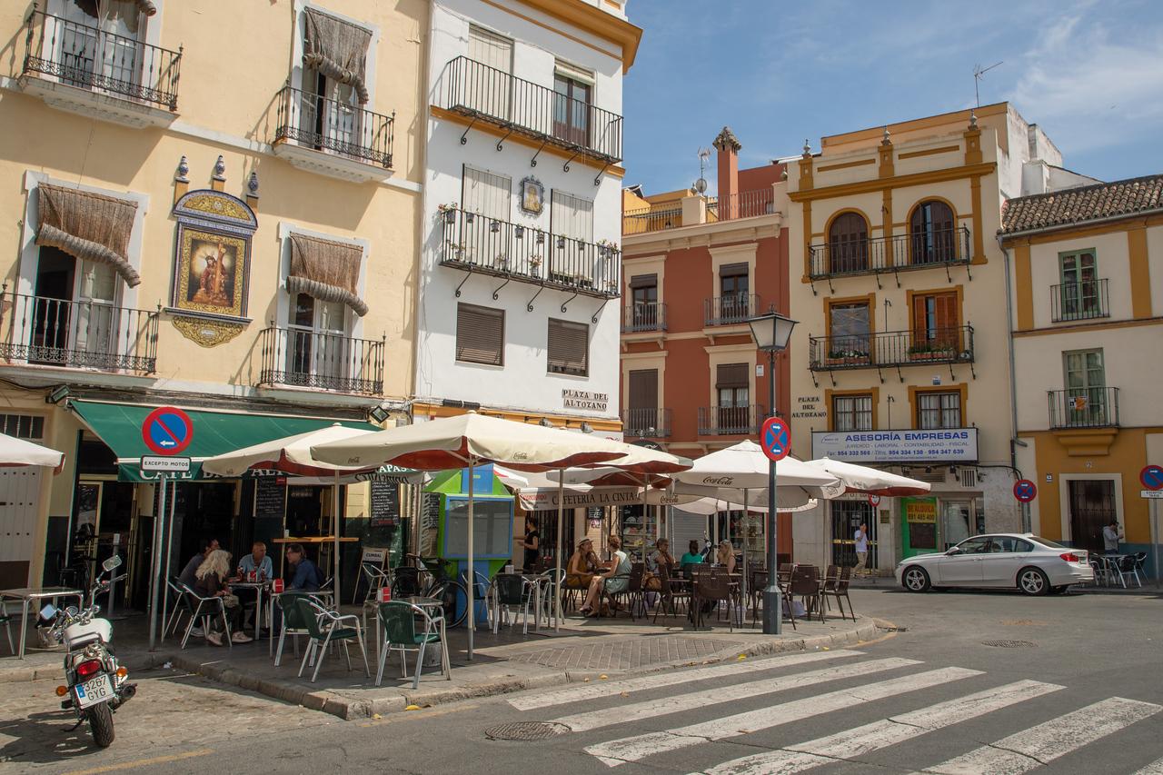 Tapas Bar in the Tirana Neighborhood of Seville, Spain