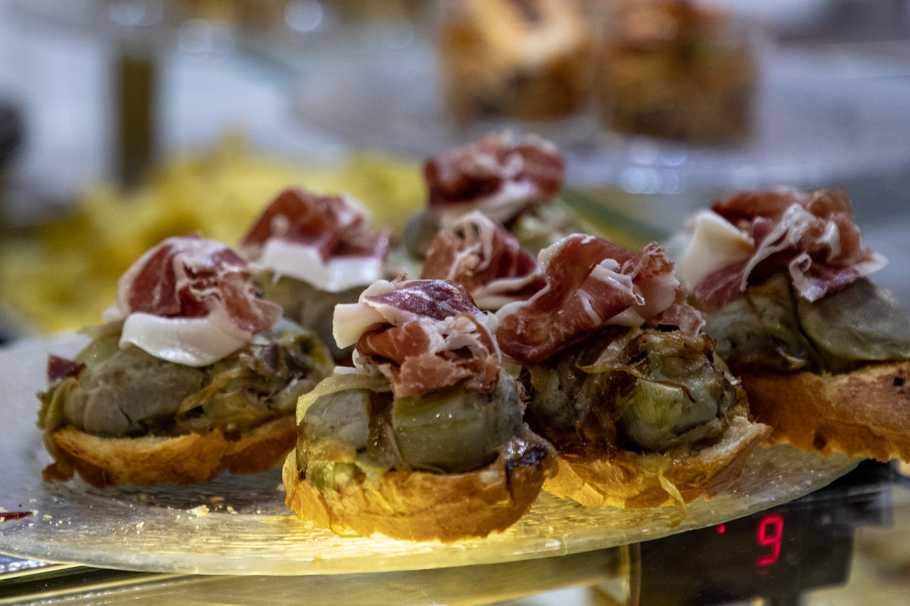 Tapas in Zaragoza, Spain