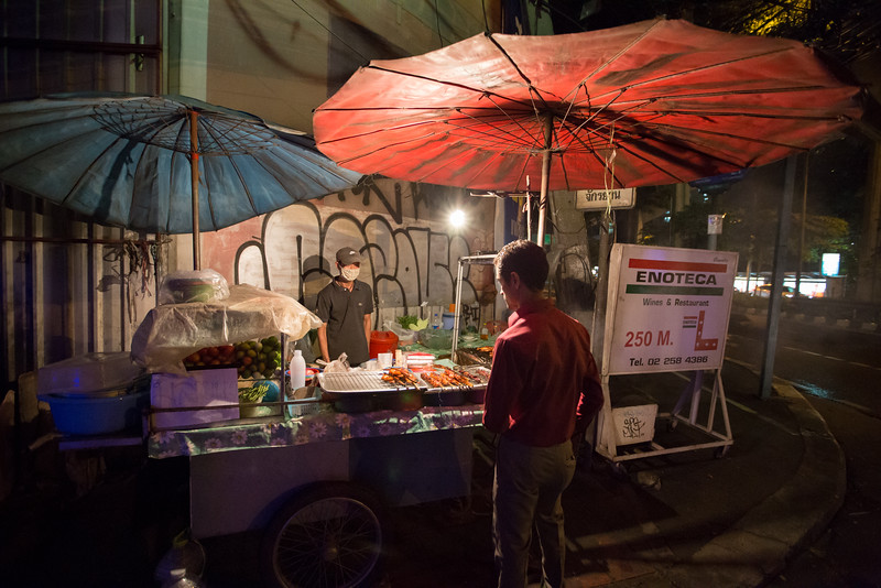 Bangkok Street Food Cart