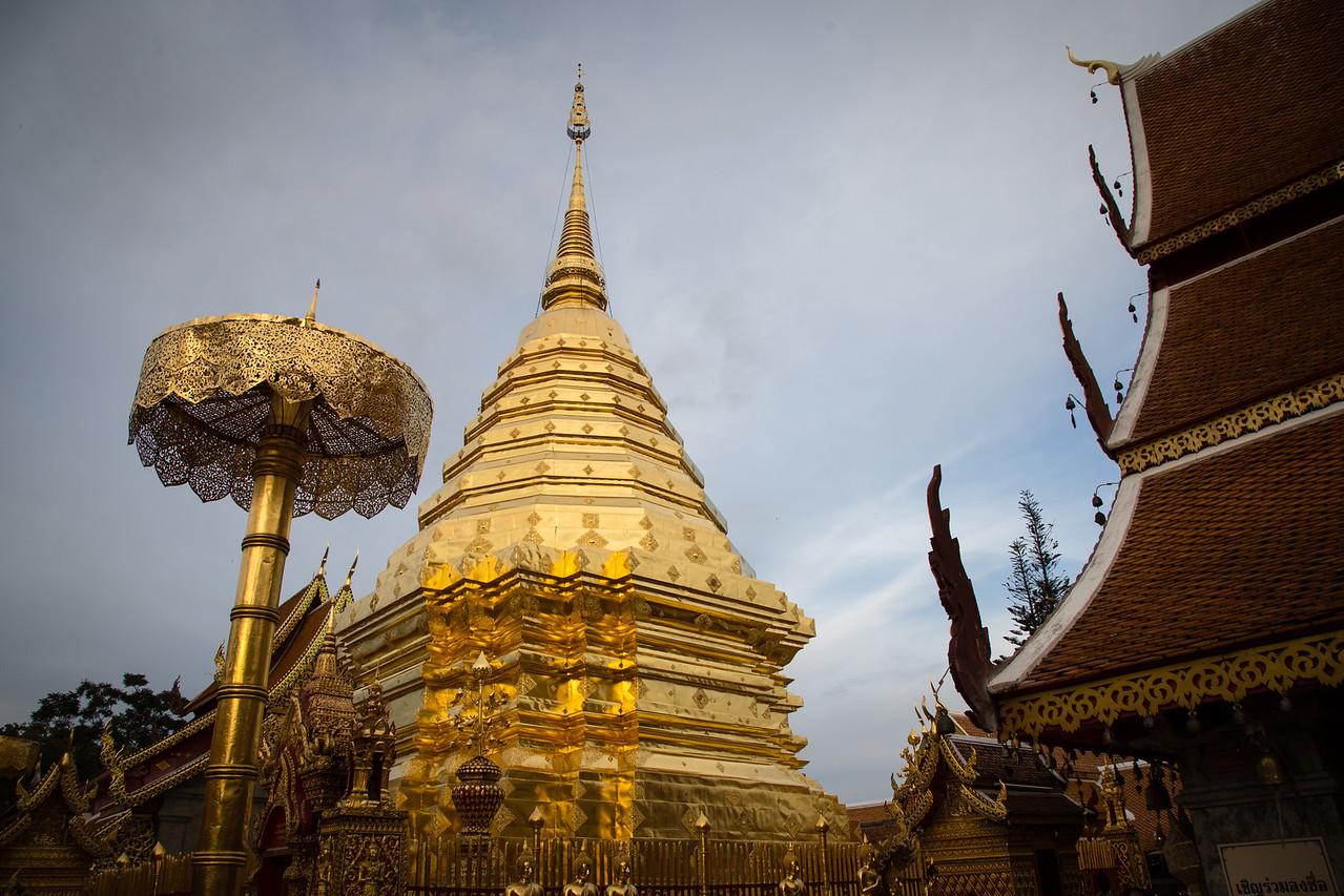 The Golden Chedi at Doi Suthep