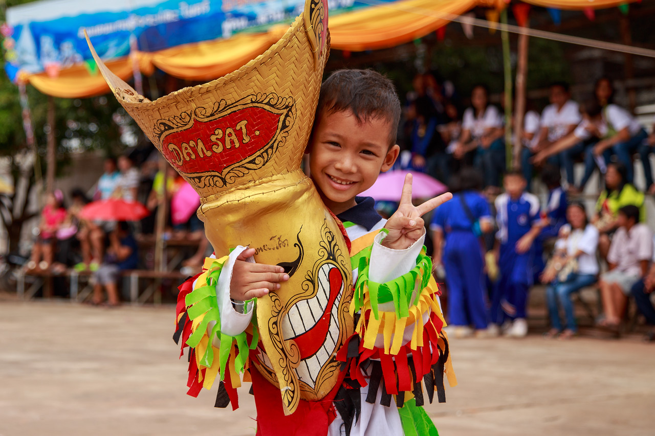 The Phi Ta Khon Ghost Festival in Thailand is Fun for the Whole Family