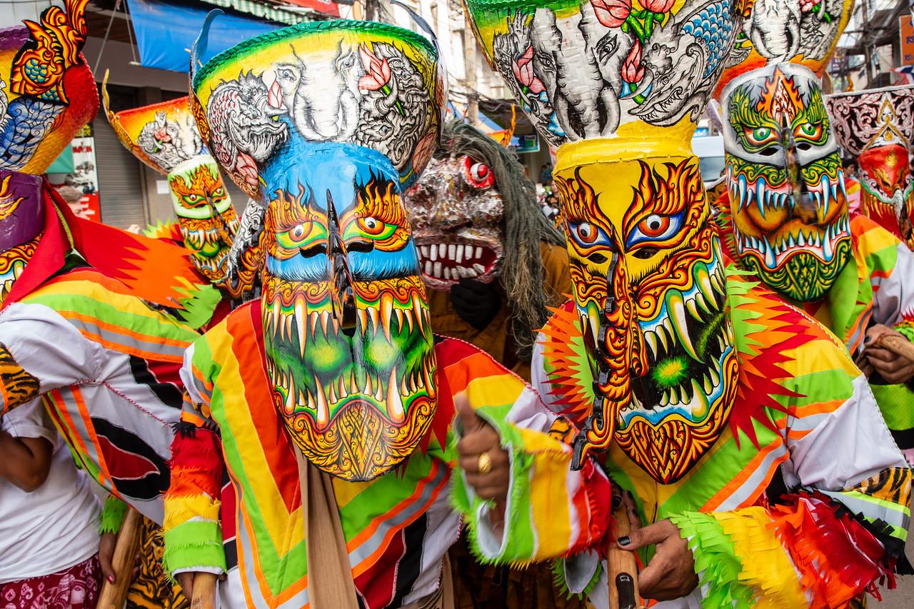 Phi Ta Khon Ghost Festival in Dan Sai Thailand