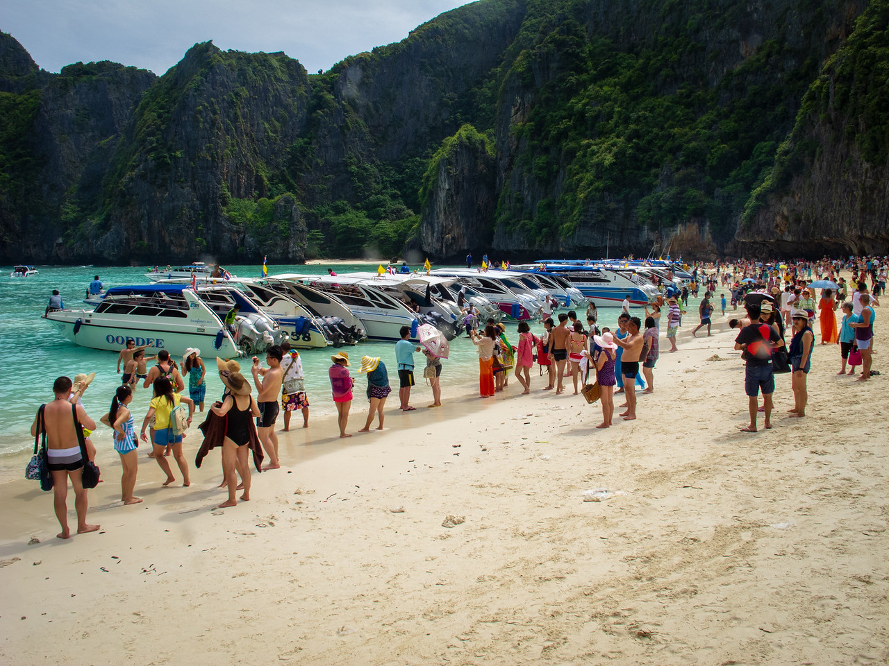 Too Much Tourism is Starting to Have its Toll on the Phi Phi Islands