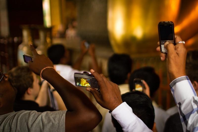 Reclining Buddha in Bangkok Thailand