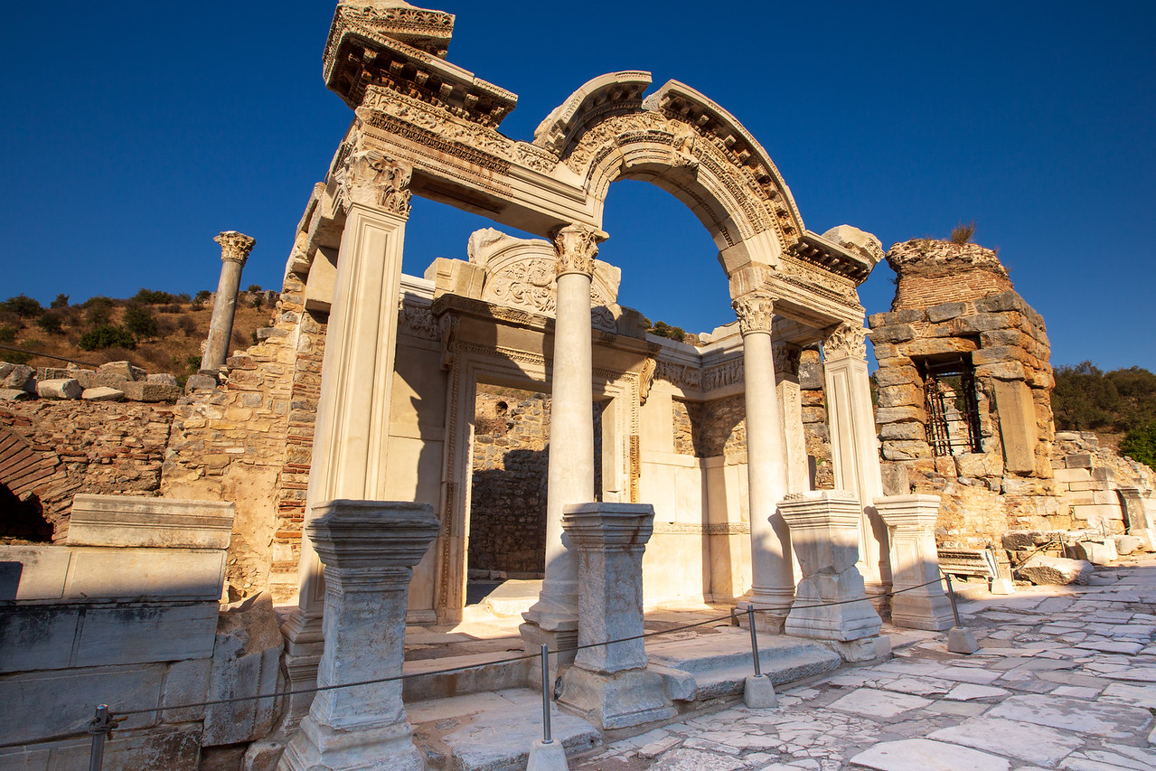 Picture of Temple of Hadrian at Ancient Ephesus
