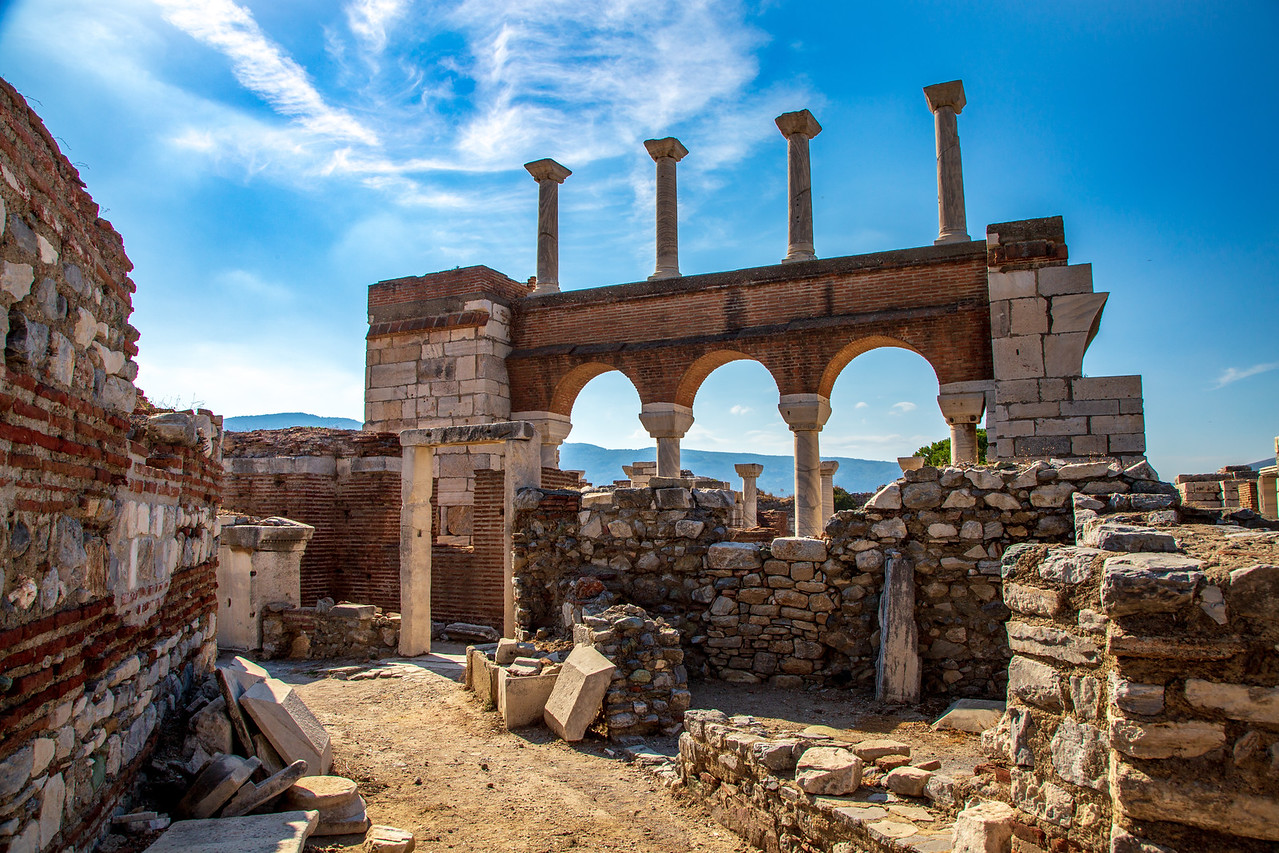 Basilica of Saint John at Ephesus, Turkey