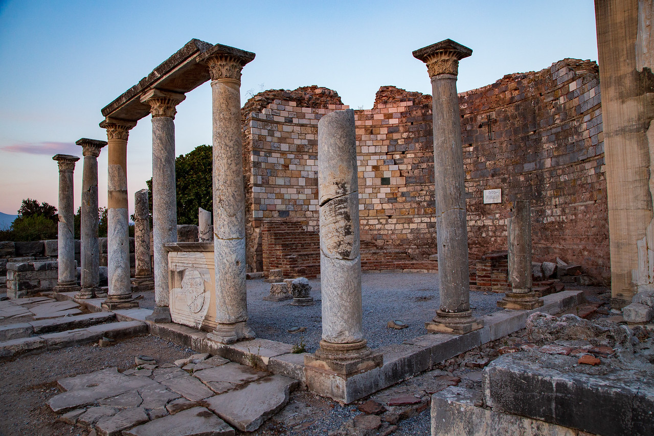 Church of Saint Mary at Ephesus Turkey
