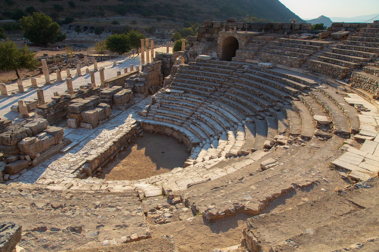 Odeon Theatre of Ancient Ephesus Turkey