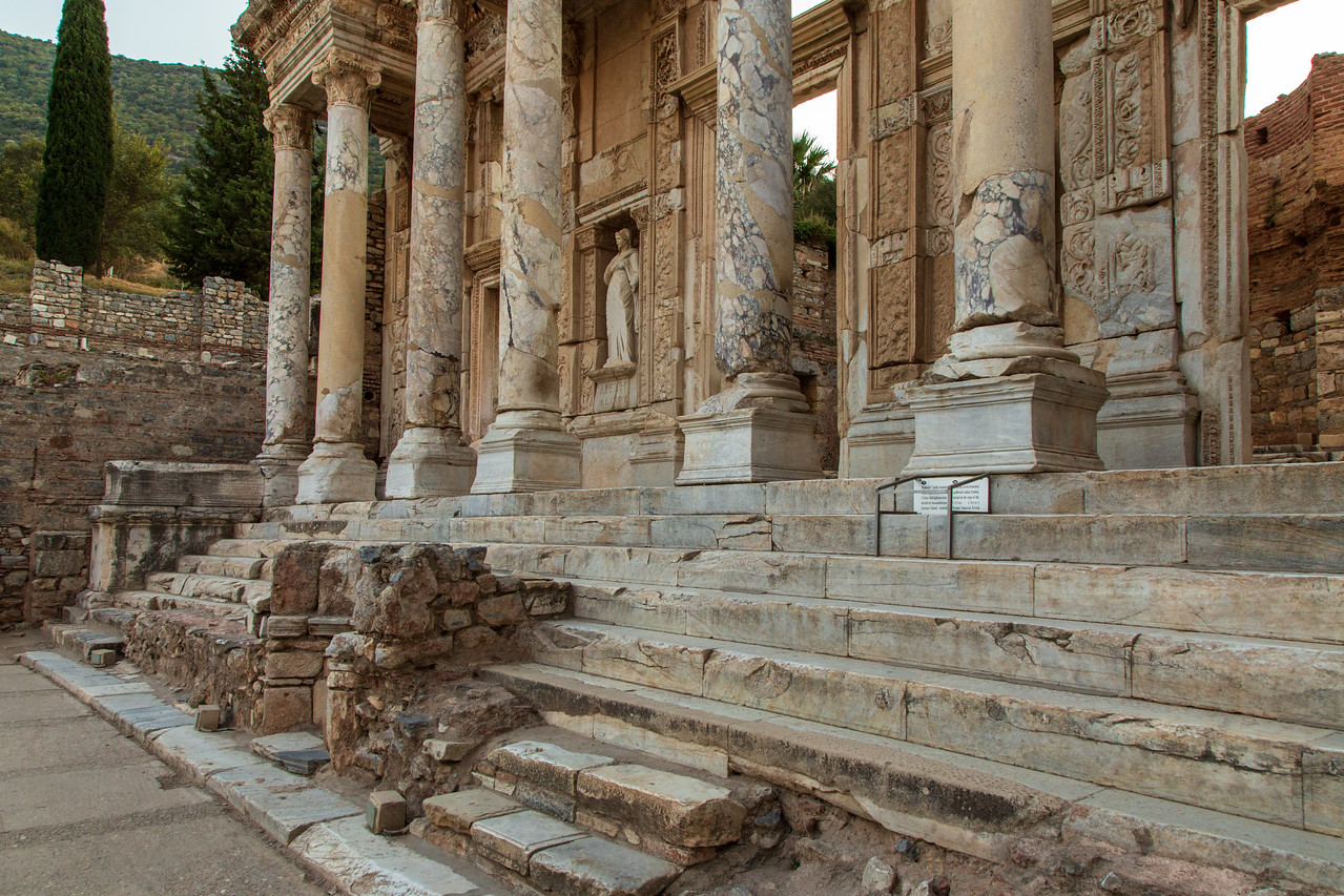 Picture of Celsus Library of Ephesus Turkey