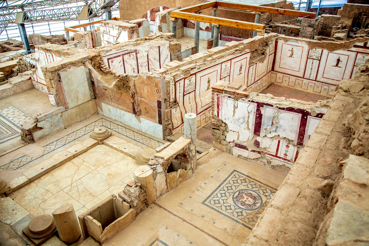 The Extra Fee to See the Ephesus Terraced Houses is Well Worth It and Give You a Feel of Roman Life