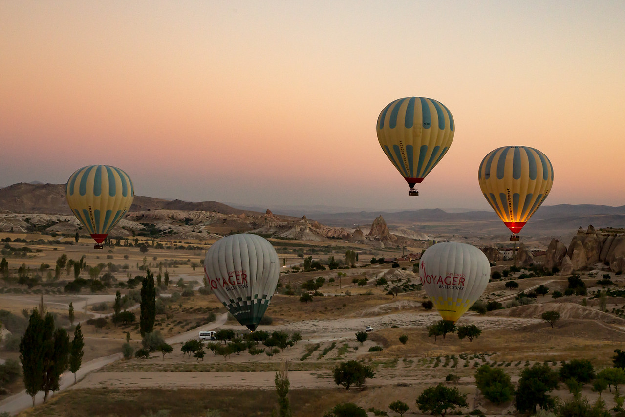 Cappadocia Hot Air Balloons Images of Hot Air Ballooning in Turkey