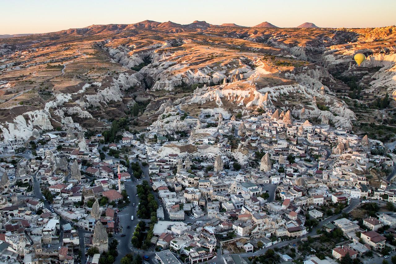 Landscape of Cappadocia, Turkey For Hot Air Balloon