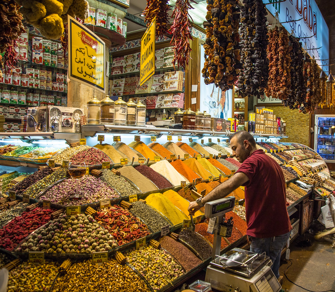 Istanbul Photography - Egyptian (Spice Bazaar) Market