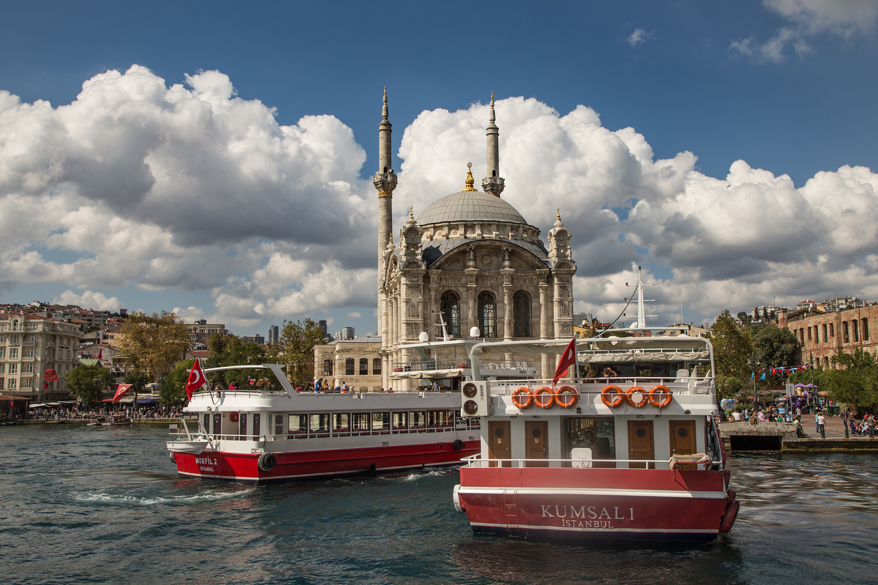 Ortaköy Mosque on the Bosporus