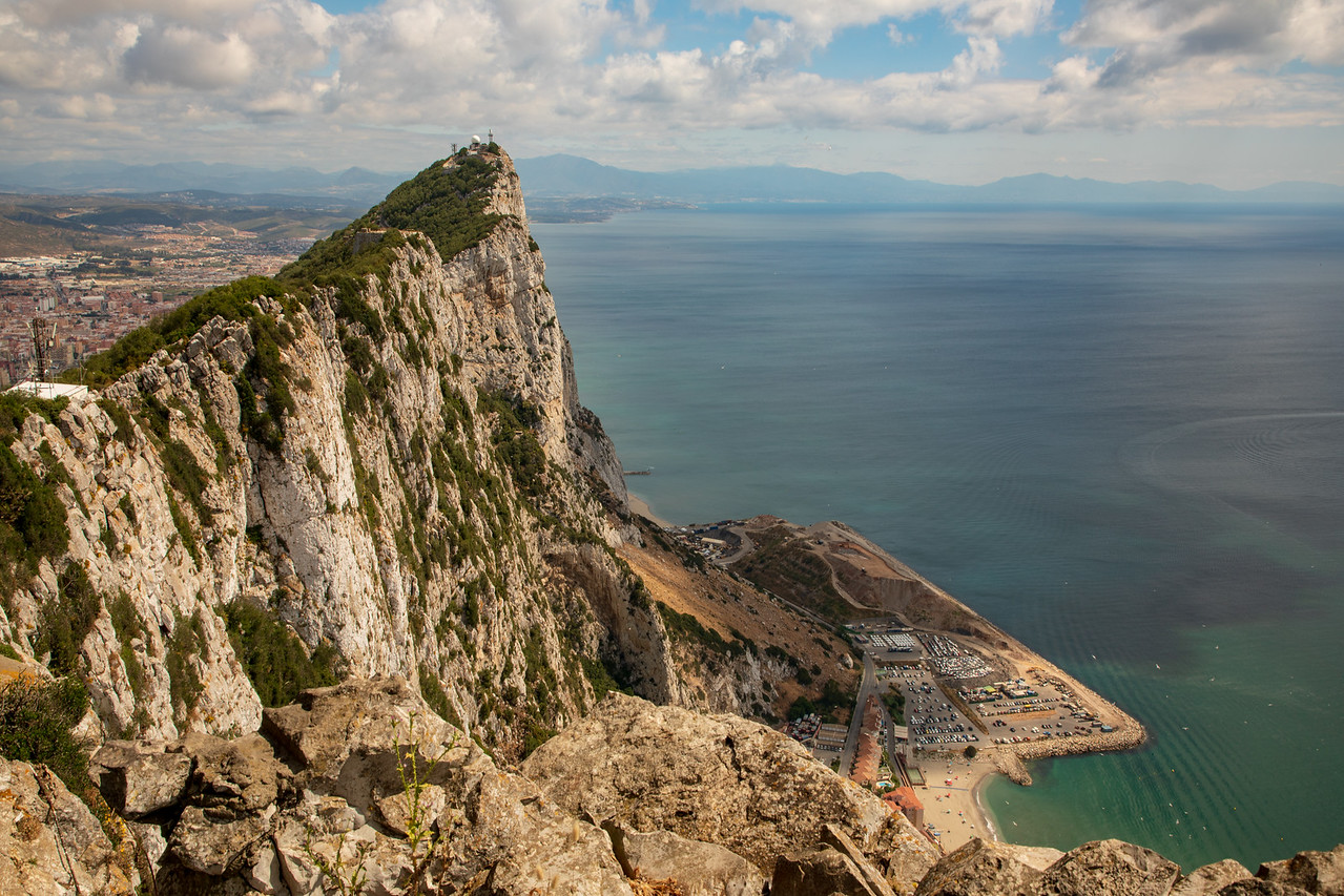 Photo From the Top of the Rock of Gibraltar