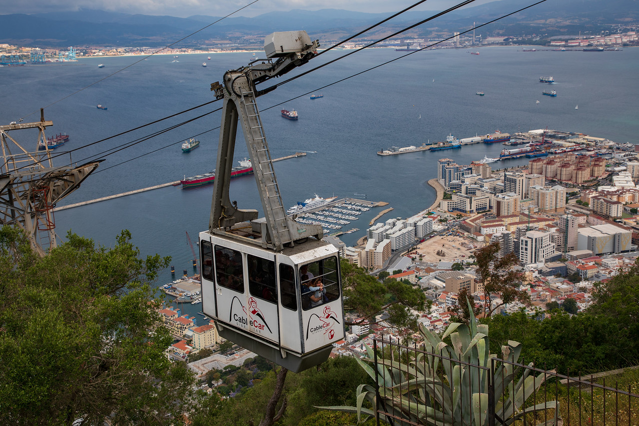 Cable Car to the Top of the Rock of Gibraltar