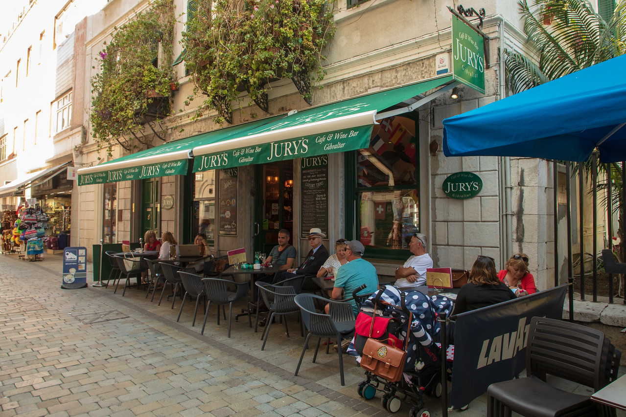 Real English Pubs and Sunshine in Gibraltar
