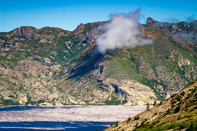 Spirit Lake near Mt Saint Helens