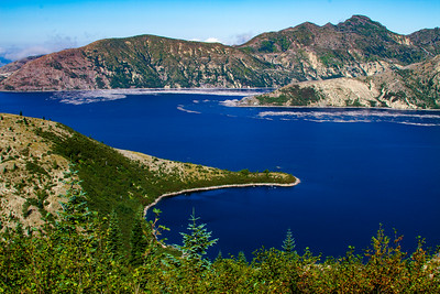Spirit Lake near Mt Saint Helens