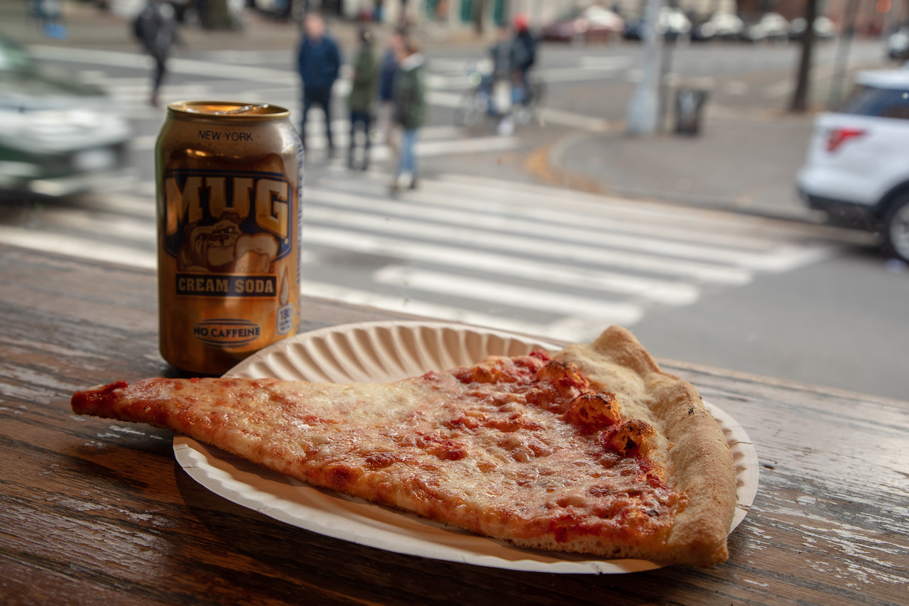 New York Style Pizza is Essential on a New York Food Tour