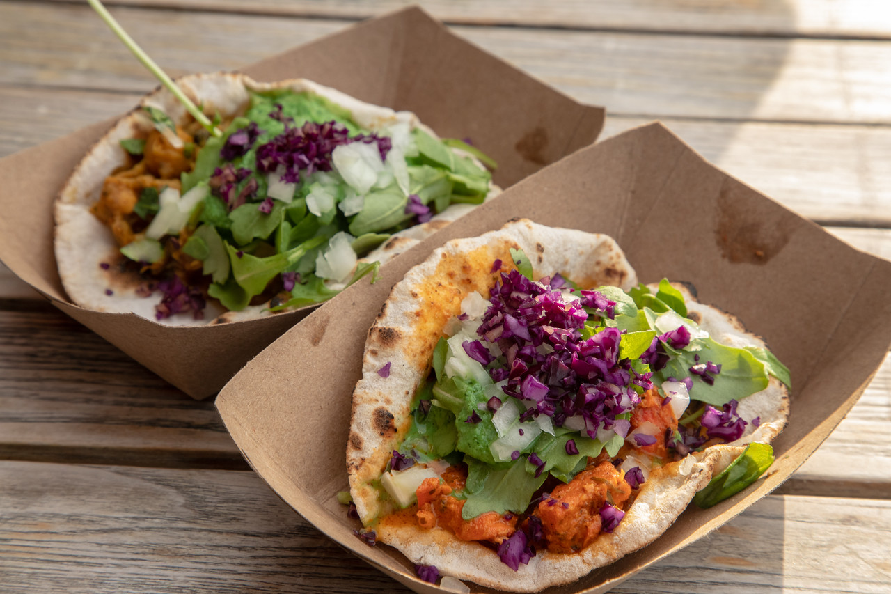 For New York Fusion Food It Is Hard To Beat A Tikka Masala Taco