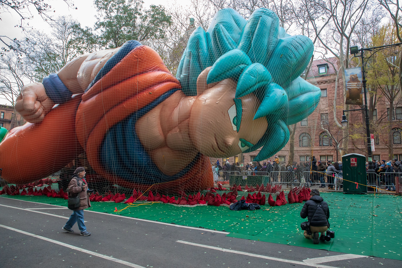 Dragon Ball's Goku Made His Debut At Macy's Thanksgiving Day Parade in 2018