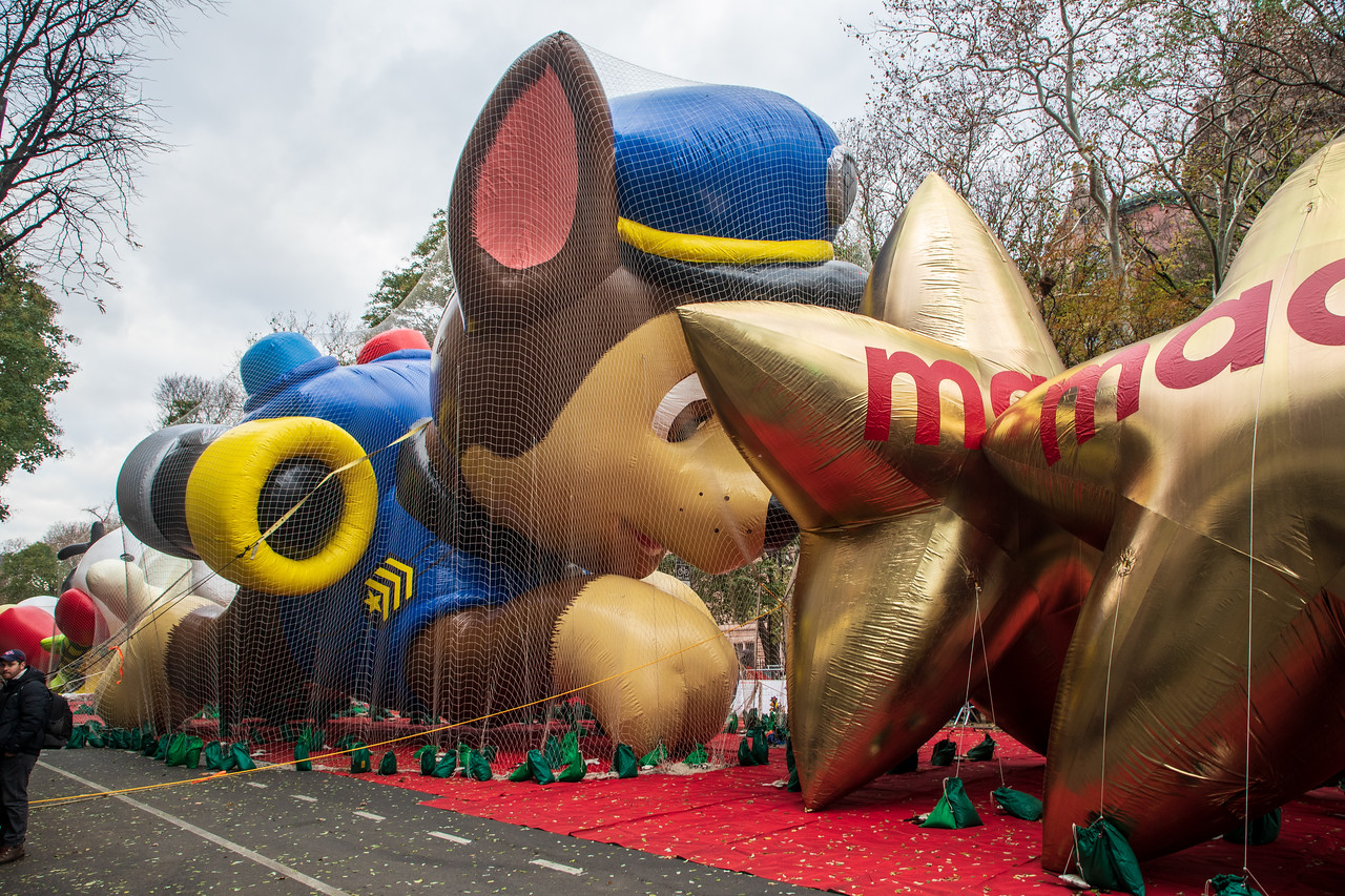 Paw Patrol Chase Getting Ready For 2018 Macy's Thanksgiving Day Parade