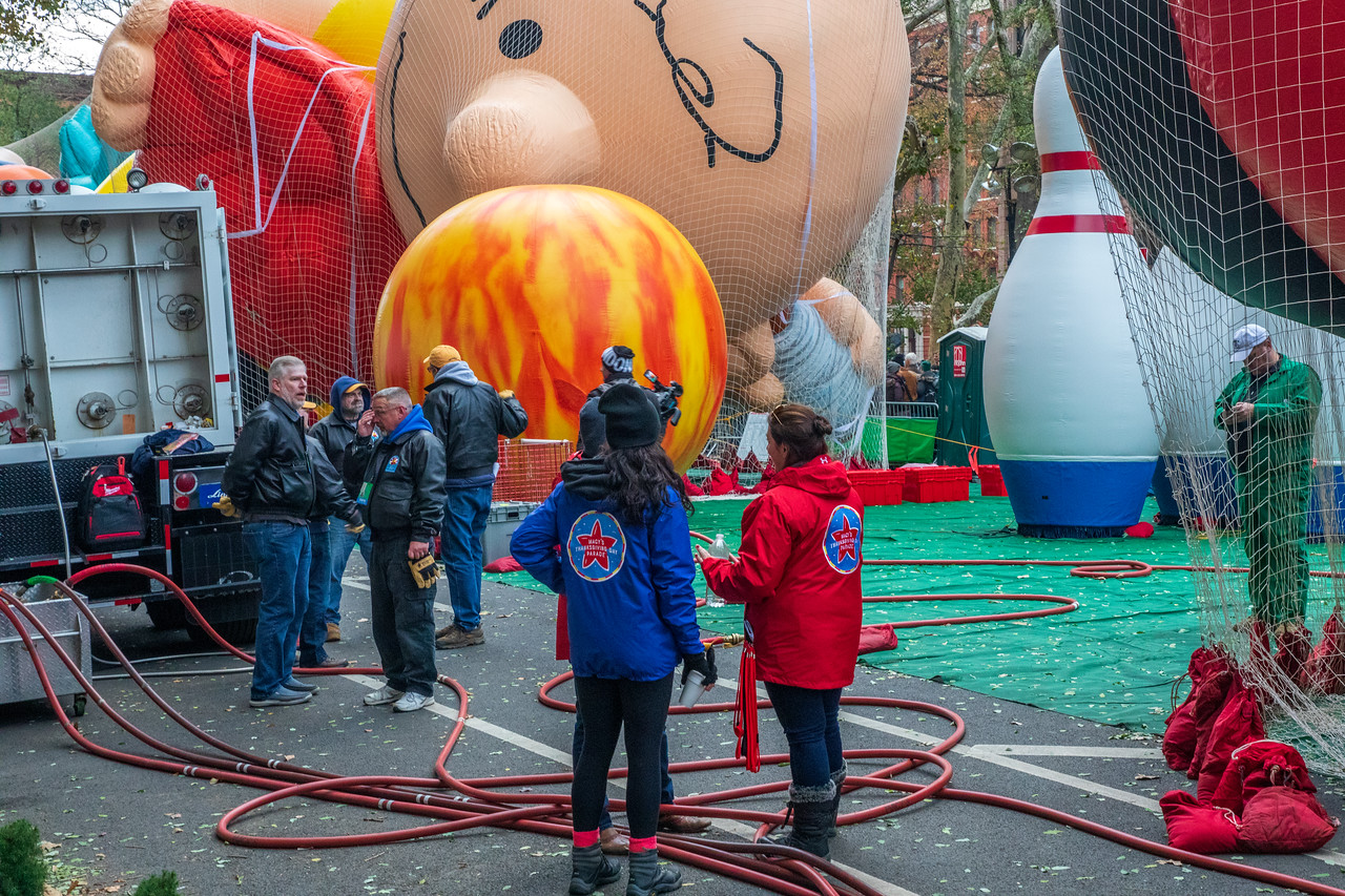 Charlie Brown Made His Debut At The Macy's Thanksgiving Day Parade in 2002