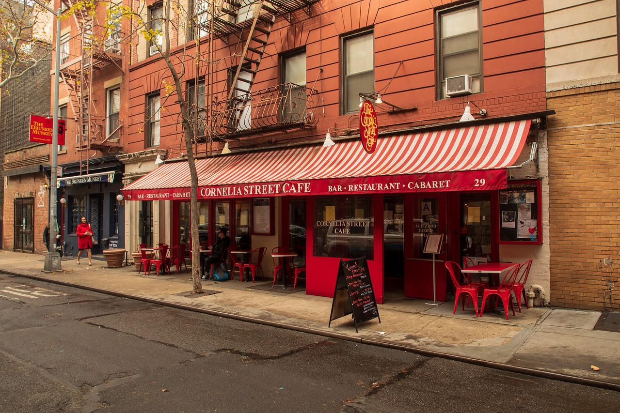 Cornelia Street Cafe Where Lady Gaga Used To Waitress Before Being Discovered on New York Food Tour