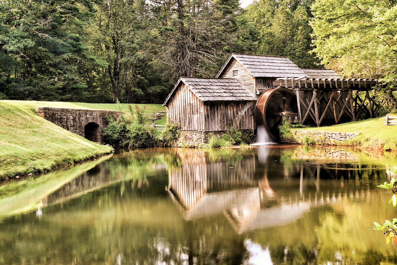 Photo: Mabry Mill on the Blue Ridge Parkway