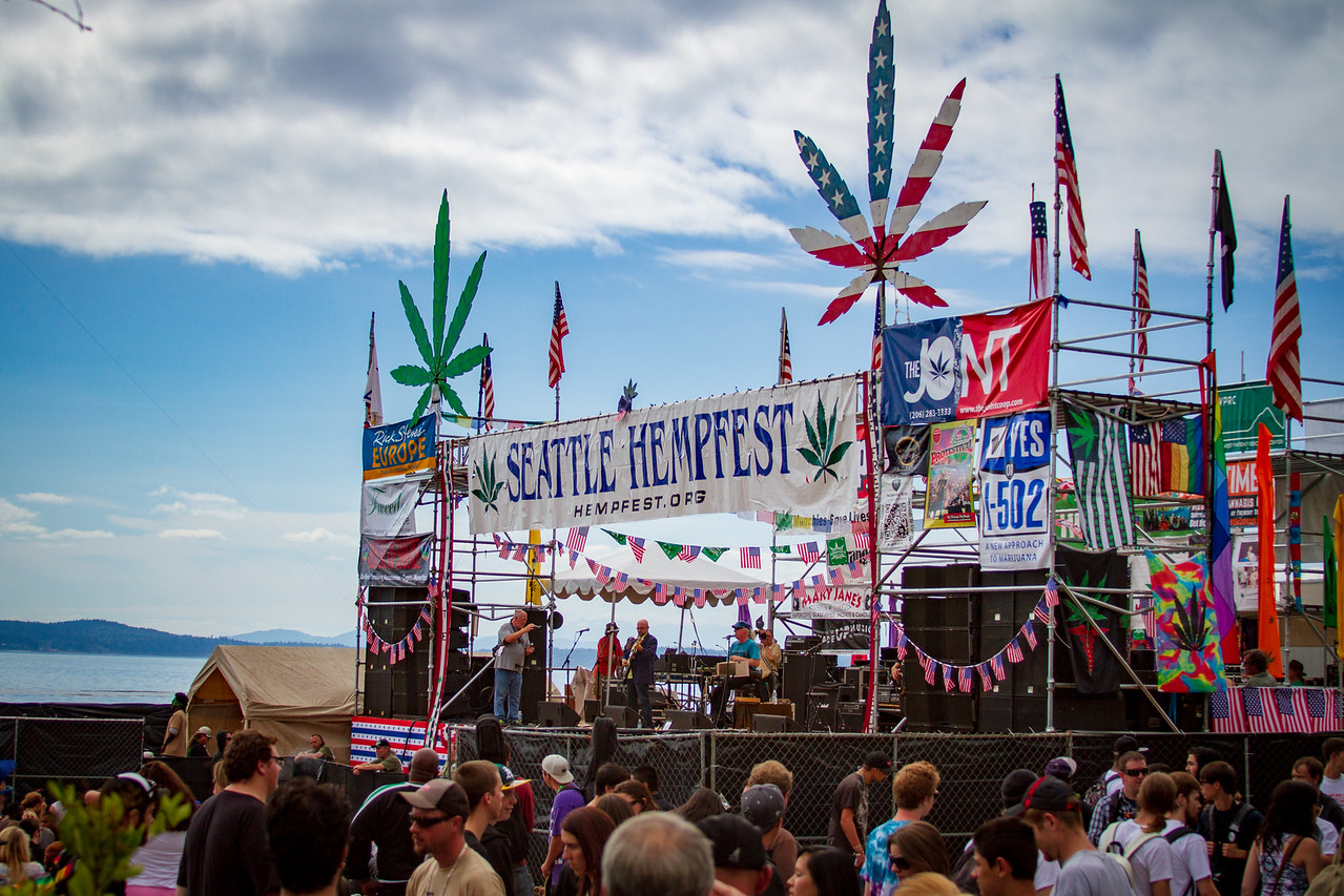 2012 Hempfest in Seattle