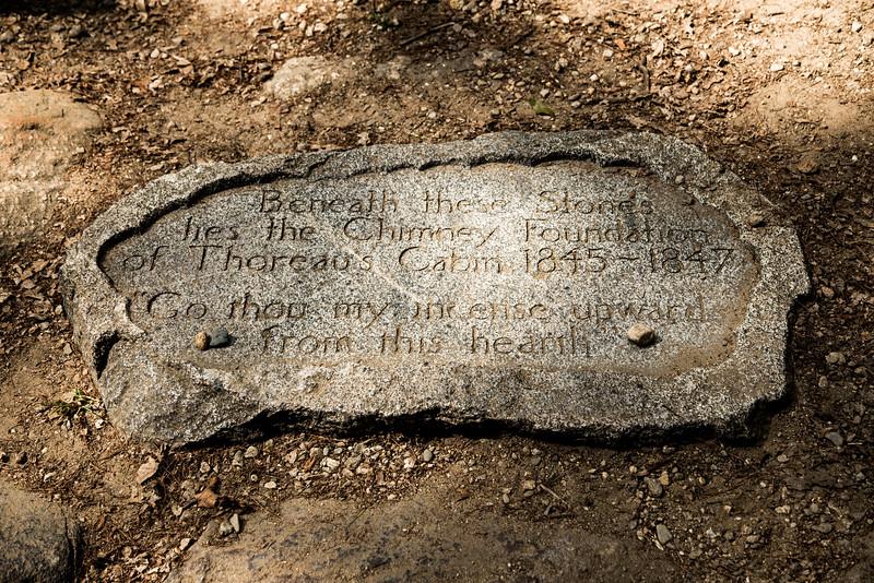 Thoreau's Hearth Stone