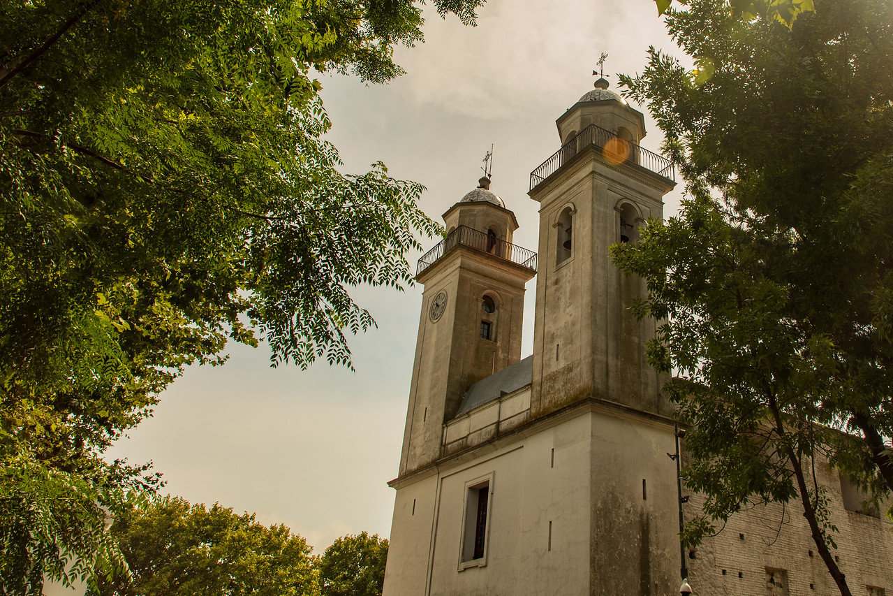 Oldest Church in Uruguay, the Basilica of the Holy Sacrament in Colonia del Sacramento