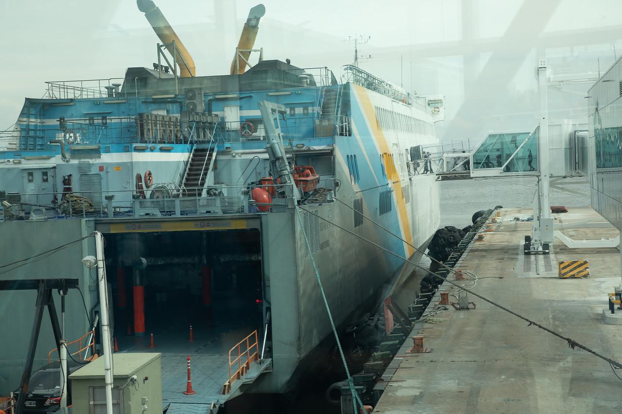 The Ferry To Colonia del Sacramento Uruguay