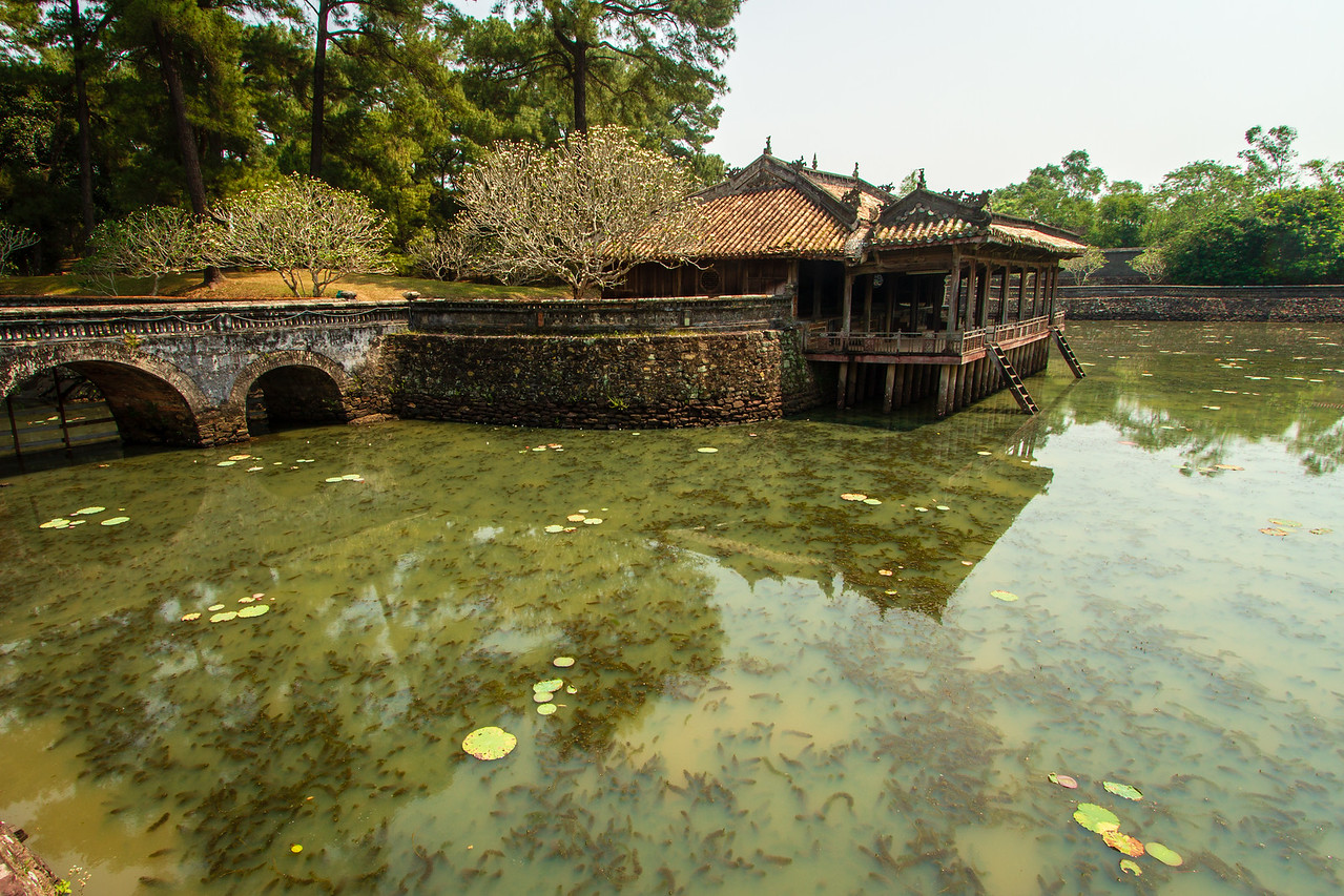 Xung Khiem Pavilion on the grounds of Tu Duc's Royal Tomb