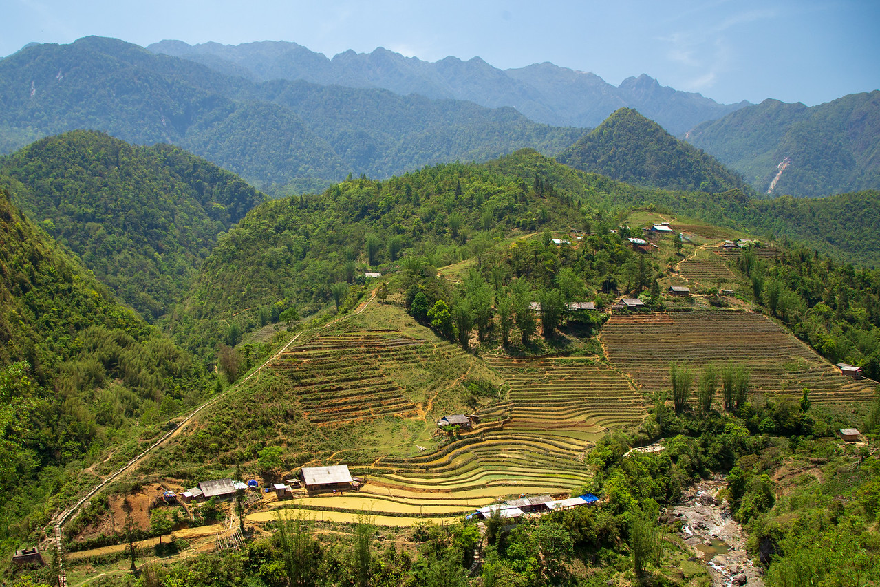 The Ruggedness of the Sapa Rice Terraces