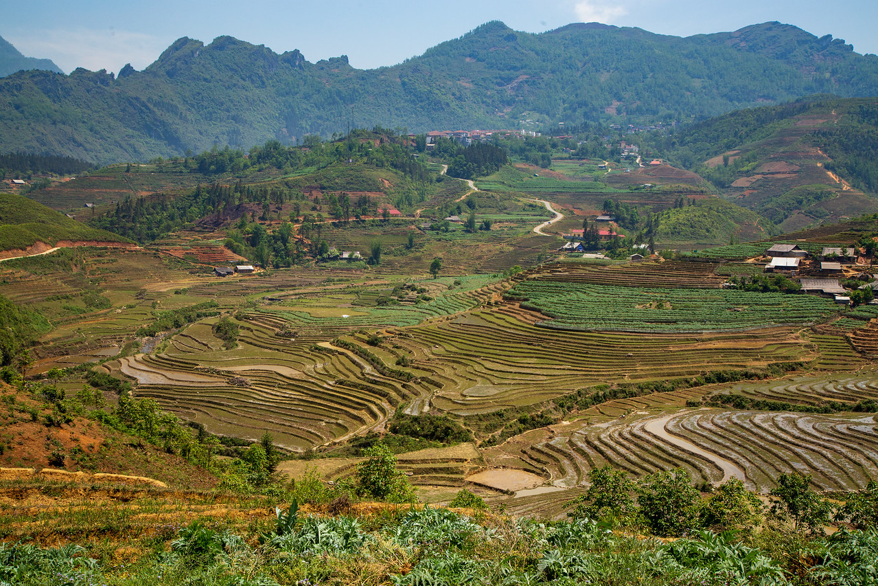 The Extent of the Sapa Rice Terraces is Mind Boggling