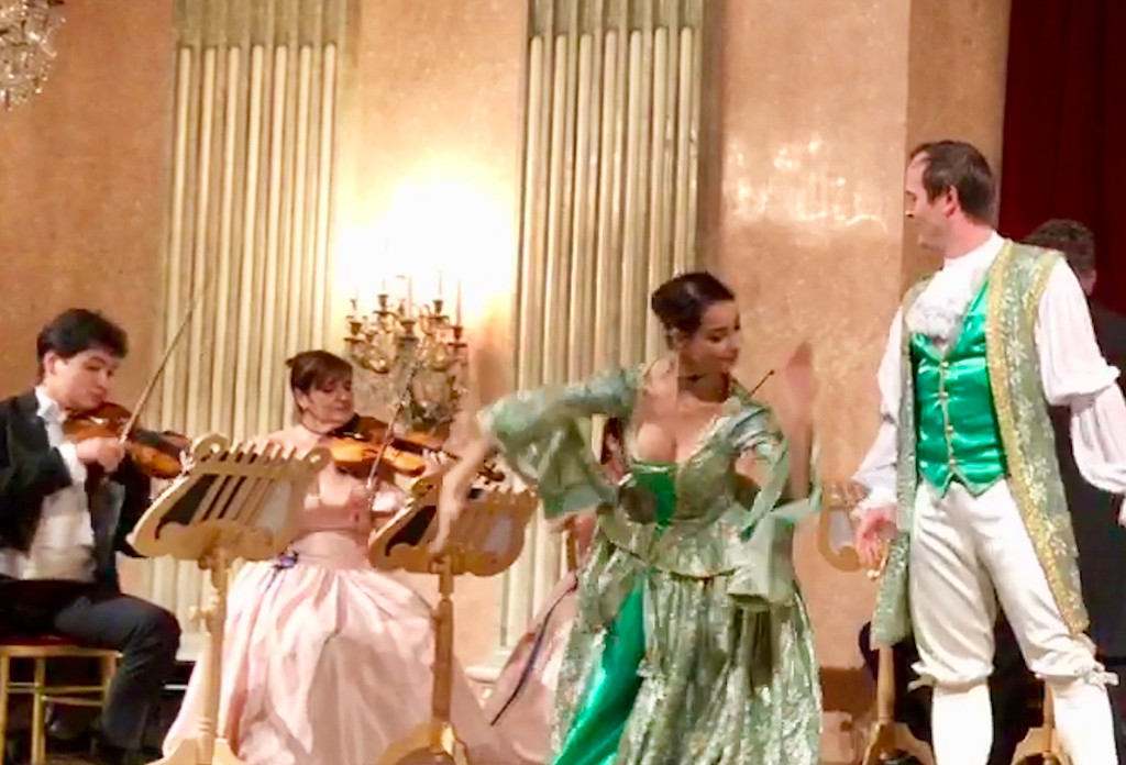 Fun Opera in a Beautiful Hall Especially for Viking River Cruise Guests