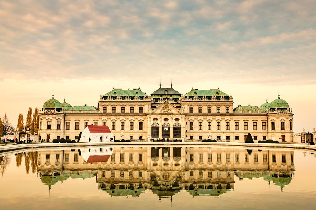 The Spectacular Belvedere Palace in Vienna, Austria