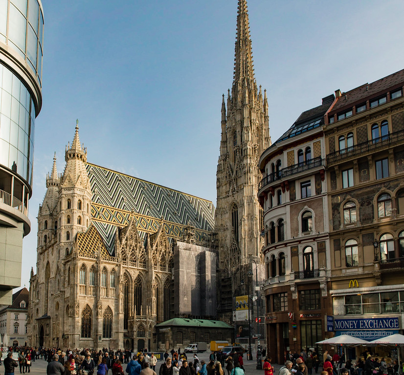 St. Stephen's Cathedral in the Heart of Downtown Vienna