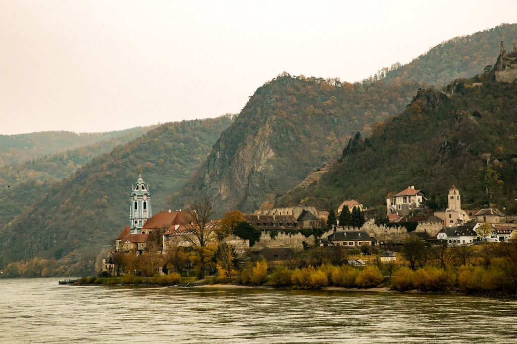 The Picturesque Town of Krems, Austria at the Entrance of the Wachau Valley