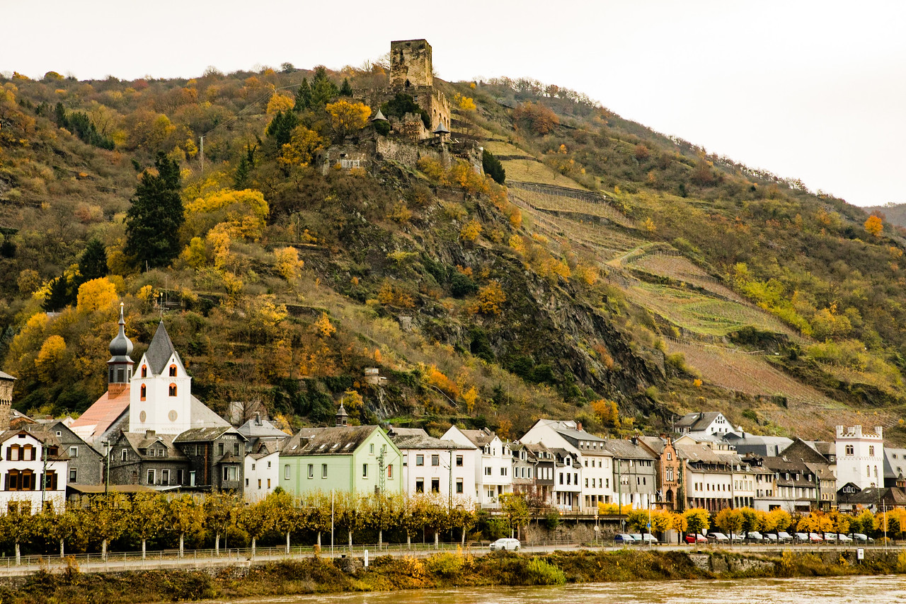 Cruising Through the Incredible Scenery on the Upper Middle Rhine River