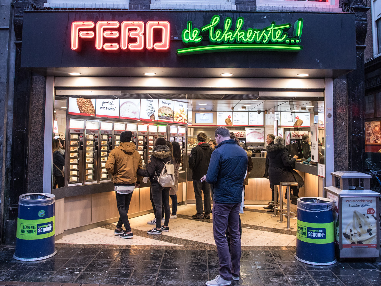 FEBO is a Kind of Institution in Amsterdam